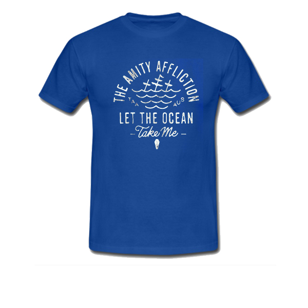 the amity affliction let the ocean take me tshirt