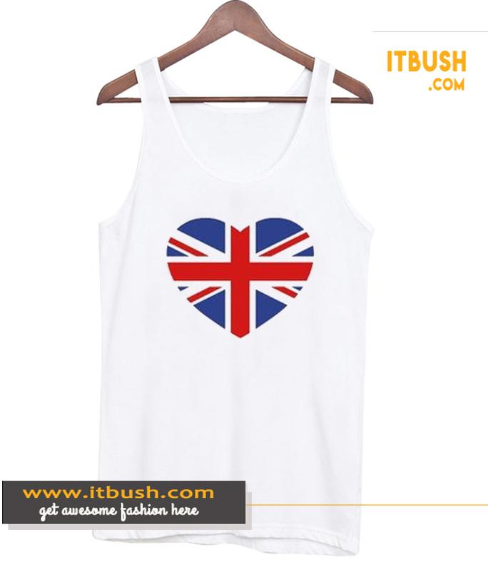 British Heart Tank Top