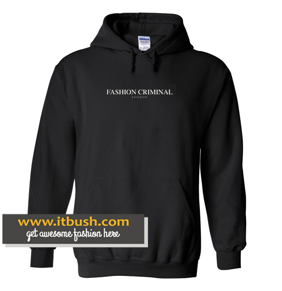 Fashion Criminal London Hoodie