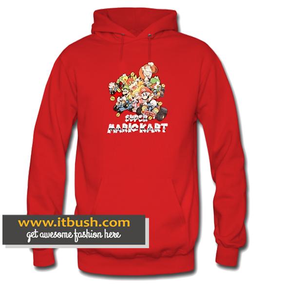 Super Mario Kart Red Hoodie