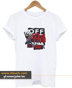 Vans X Marvel Captain Marvel T Shirt