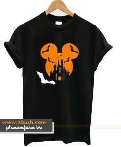 Disney Halloween theme Mickey head T Shirt