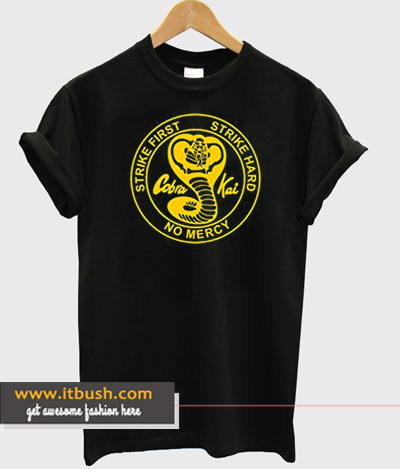 3de22ce37 Stooble Men's Cobra Kai T-Shirt DS