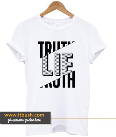 Truth Lie T-shirt ds