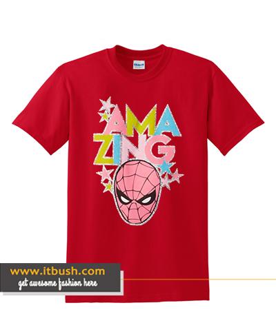 Marvel Little Girls' Toddler Thor, Captain America or Spiderman T-Shirt ds