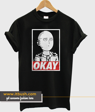 One punch man - Saitama T-Shirt ds