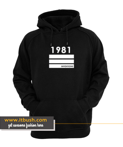 1981 Inventions Hoodie ds