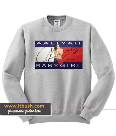Aaliyah Babygirl Sweatshirt ds