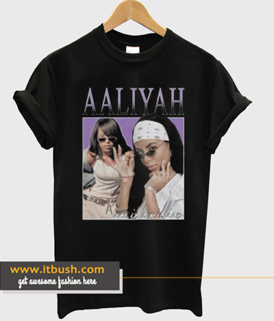 Aaliyah T-shirt ds