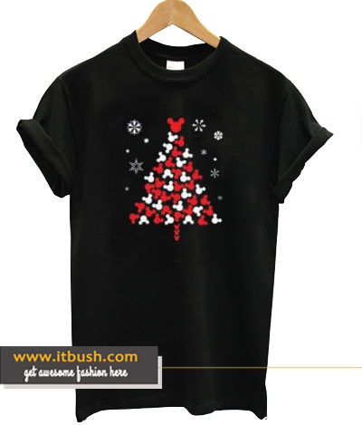 Disney Mickey Christmas Tree T-shirt