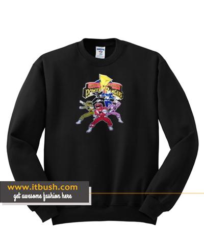 Power Rangers Sweatshirt ds