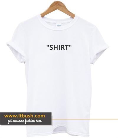 SHIRT Off white Tshirt ds