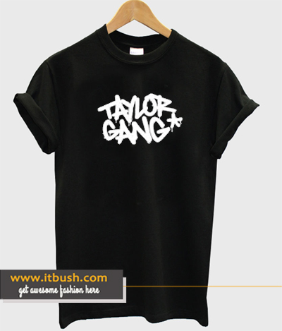 Wiz Khalifa Taylor Gang T-shirt ds