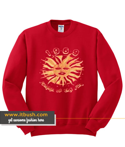 1969 Summer of the sun sweatshirt-ul