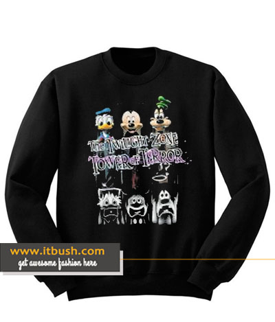 the twilight zone tower of terror sweatshirt-ul