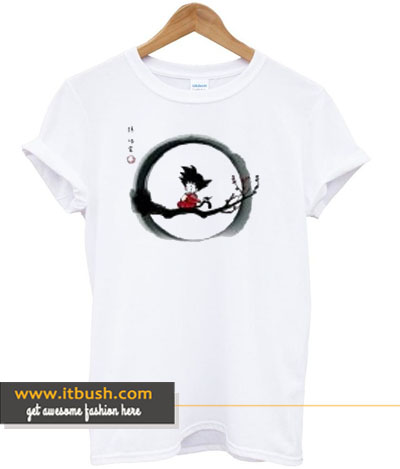 young goku dragon ball t-shirt-ul