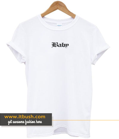 baby letter t-shirt-ul