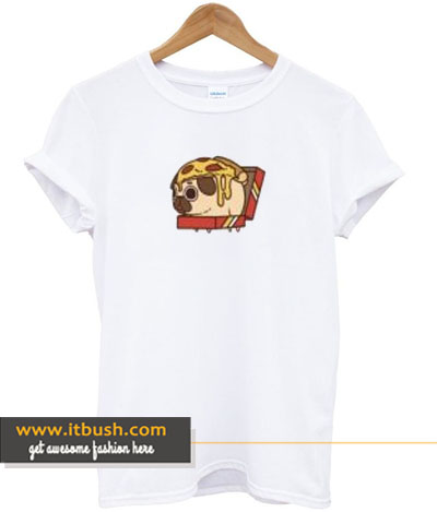 bread pug t-shirt-ul