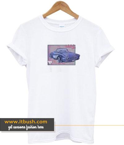 1960 corvertte convertible t-shirt-ul