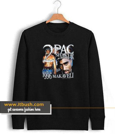 2 pac shakur 1996 makaveli sweatshirt-ul