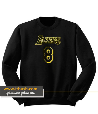 lakers 8 sweatshirt-ul