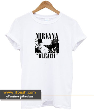nirvana bleach t-shirt-ul