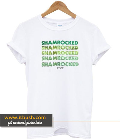 shamrocked t-shirt-ul