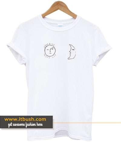 sun and moon t-shirt-ul