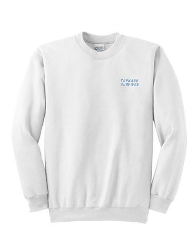 tornado survivor sweatshirt-ul