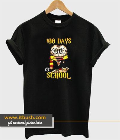 100 Days Owl of School T-shirt