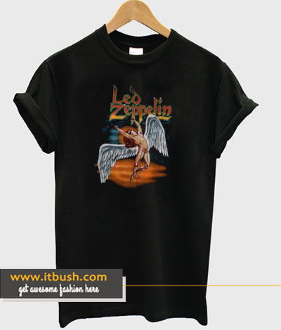 1990 Led Zeppelin Swan Tshirt