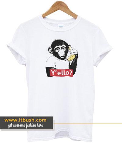 Yello Monkey T-shirt