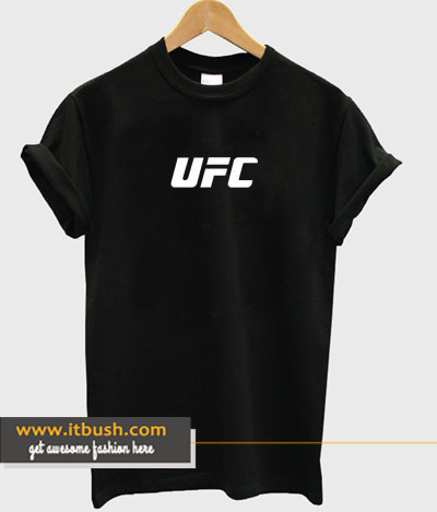 UFC White Logo T-shirt