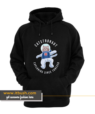 catstronaut hoodie